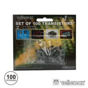 Kit Transistor C/ 100 Peças - (K/TRANS1)