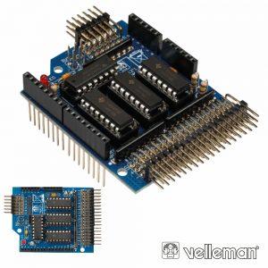 Extensão Shield C/ 24 Entradas Analógicas P/Arduino VELLEMAN - (KA12)