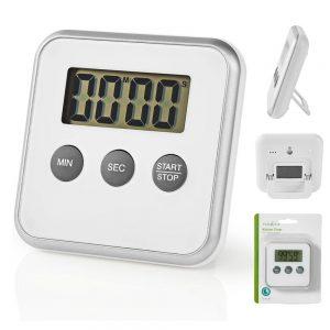 Cronómetro Digital p/ Cozinha Branco - (KATR102WT)