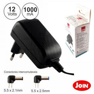 Alimentador Compacto 12V 1A 12W JOIN - (KD1910/12)