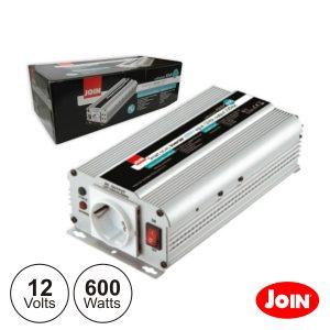 Conversor 12V-230V 600W Onda Sinusoidal Modificada - (KINV0600)