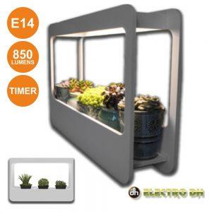 Kit De Crescimento De Plantas P/ Interior C/ Luz E14 850lm - (81.820)
