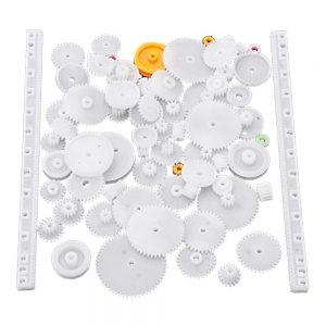 Kit De Engrenagens Plástico De Redução Dupla 75 Peças - (GEARSET296)
