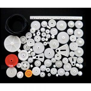Kit De Engrenagens Plástico De Redução Dupla 81 Peças - (GEARSET297)