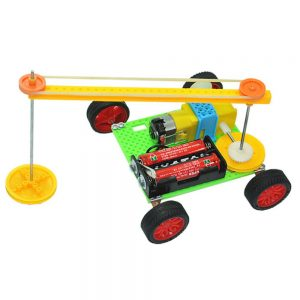 Kit Educativo Carro Robô Varredor C/ Rodas - (KIT1413)