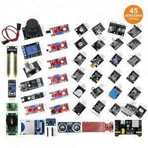 Kit 45 Sensores Diversos P/ Arduino - (KITARD20)