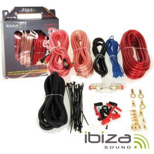 Kit De Cabos Completo P/ Amplificador/Colunas 30a IBIZA - (KITCAR30A)