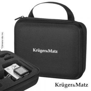 Mala P/ Câmaras De Ação Kruger Matz E Gopro - (KM0213)