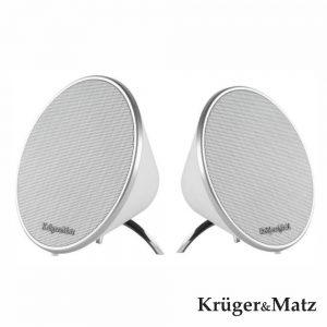 Coluna Bluetooth 2.0 2x3W USB/Aux Bat Mic Kruger Matz - (KM0521)