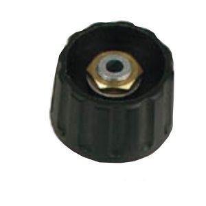 Botão Preto 28x6mm - (KN286N3)