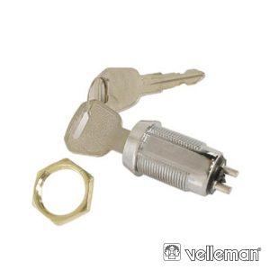 Interruptor C/ Chaves 1p Off-On Spst VELLEMAN - (KS1)