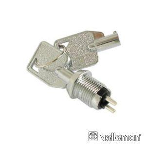 Interruptor C/ Chaves 1p Off-On Spst VELLEMAN - (KS11)