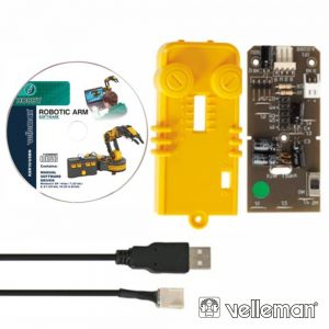 Interface USB P/ Kit Braço Robótico Ksr10 VELLEMAN - (KSR10/USBN)