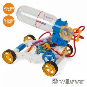 Kit Carro C/ Motor Movimentado A Ar VELLEMAN - (KSR16)