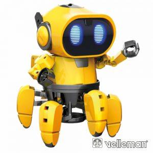 Kit Robô C/ 6 Pernas Tobbie 107 Peças VELLEMAN - (KSR18)