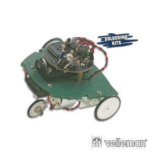 Kit Robô Sapo 90x125x100mm VELLEMAN - (KSR2)