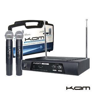 Central Microfone S/ Fios 2 Canais Vhf 174.1/174.5mhz Kam - (KWM11A)
