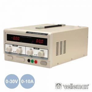Fonte De Alimentação Digital 0-30V / 0-10a VELLEMAN - (LABPS3010)