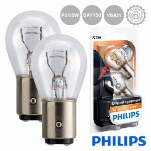 Lâmpada P/ Automóvel 12V P21/5W Bay15d Vision 440lm Philips - (LAMP-P21/5W-PH)