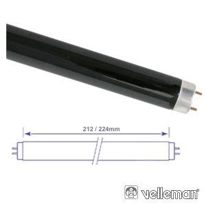 Lâmpada Tubular 6W 230V Fluorescente UV VELLEMAN - (LAMP06TBL)