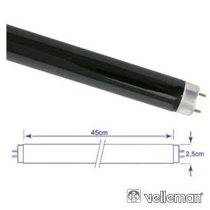 Lâmpada Tubular 15W 230V Fluorescente UV VELLEMAN - (LAMP15TBL)