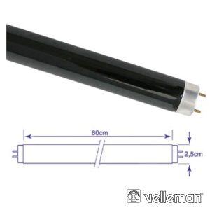 Lâmpada Tubular 20W 230V Fluorescente UV VELLEMAN - (LAMP20TBL)
