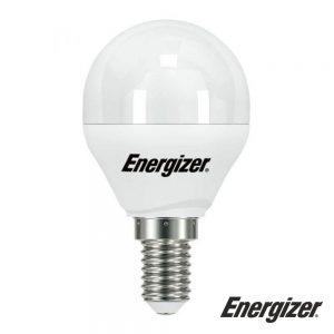 Lâmpada E14 5.2W LED Globo 3000K 470lm ENERGIZER - (S17203)