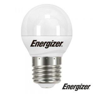 Lâmpada E27 5.2W LED Globo 3000K 470lm ENERGIZER - (S17201)