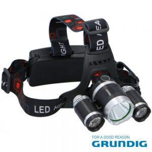 Lanterna De Cabeça 3 LEDS 200lm - (14022)