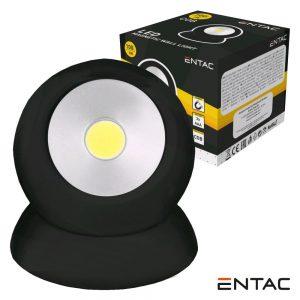 Lanterna 1 LED COB 1W Magnética 100LM ENTAC - (EFL-1W-MAG-B)
