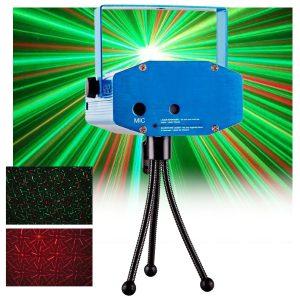 Laser 170mW Vermelho/Verde Star - (LASERMINI170)