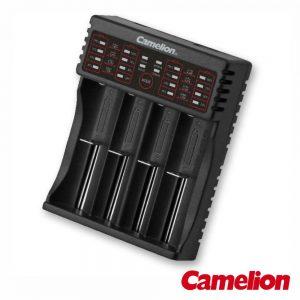 Carregador Baterias Multifunções Li-Ion/Ni-Mh/Li-Fe CAMELION - (LBC-321)
