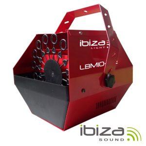 Máquina De Bolhas 25W Vermelha IBIZA - (LBM10-RE)