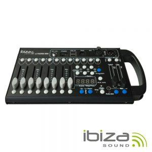Controlador DMX 192 Canais Compacto IBIZA - (LC192DMX-MINI)