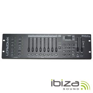 Controlador DMX 192 Canais IBIZA - (LC192DMX)