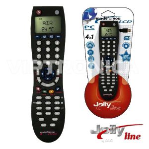 Comando TV Programável 4:1 C/Prog E Lcd - (LCD4:1KIT)