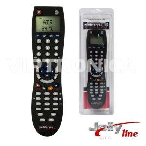 Comando TV Programável 4:1 TV/SAT/ Ar Condicionado C/Lcd - (LCD4:1)