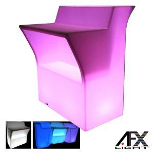 Balcão Exterior C/ LEDS RGB Efeitos IP65 AFXLIGHT - (LED-BAR)