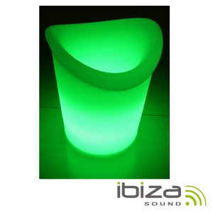 Frapé P/ Garrafas C/ Iluminação LED Ø20x35cm IBIZA - (LED-CHAMP2035)