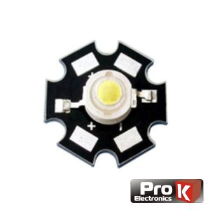 LED Array Alto Brilho 1W Branco Quente PROK - (LED01WW)
