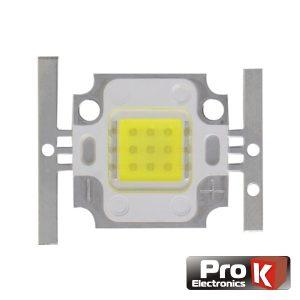 LED Array Alto Brilho 10W Branco Frio PROK - (LED10CW)