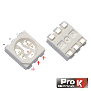 LED SMD 5050 RGB PROK - (LED5050RGB)