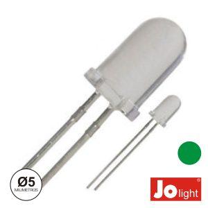 LED 5mm Alto Brilho Verde Jolight - (LL0510G)