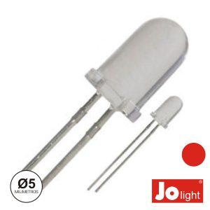 LED 5mm Alto Brilho Vermelho Jolight - (LL0510R)