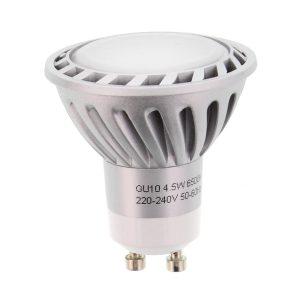 Lâmpada GU10 4.5W 230V 8 LEDS SMD 3020 Branco Frio - (LLGU04W(W))