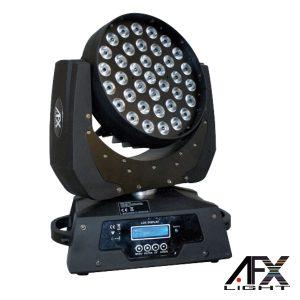 Moving Head 36 LEDS 10W RGBW Ptz DMX AFXLIGHT - (LMH460Z-2)