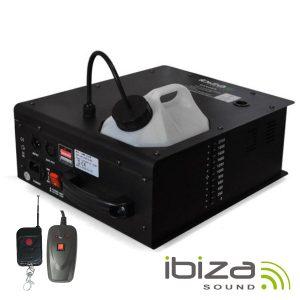 Máquina De Fumos 1500W Multidireccional DMX IBIZA - (LSMM1500W)