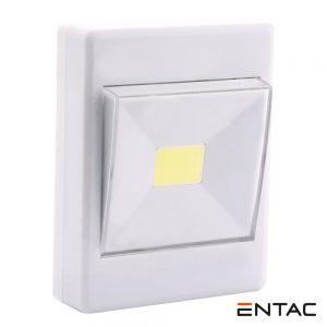Expositor 16x Luz De Parede 1 LED COB 1W ENTAC - (EPWSL-1W-COB)