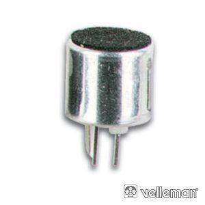 Cápsula P/ Microfone Electret Ø10mm VELLEMAN - (M300)