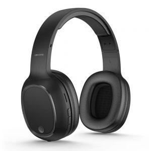 Auscultadores Bluetooth S/ Fios Preto Mic - (M8-BLACK)